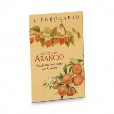 Sacchetto Profumato per Cassetti Accordo Arancio - L'Erbolario immagini