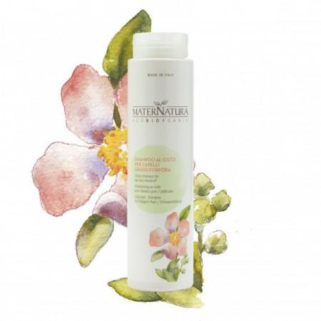 Shampoo al Cisto per capelli grassi/forfora - MaterNatura immagini