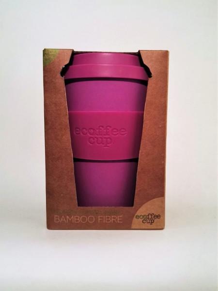 Ecocoffee Cup per bere caffè/tisane Viola - Fior di Loto immagini