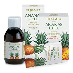 Fluido Concentrato Ananas - Erbamea immagini
