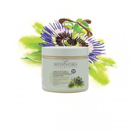 Impacco Capelli Rivitalizzante alla Passiflora - MaterNatura immagini