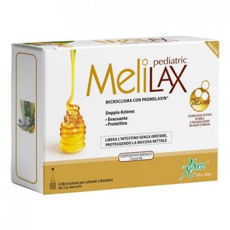 Microclisma Melilax Pediatric - Aboca immagini