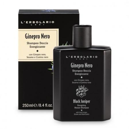 Shampoo Doccia Energizzante Ginepro Nero - L'Erbolario immagini
