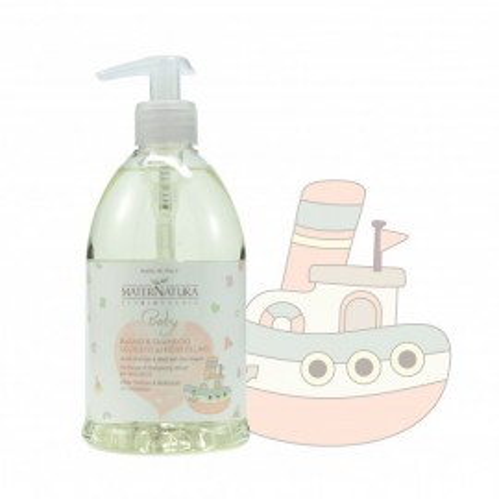 Bagno&Shampoo Delicato ai Fiori di Lino - Maternatura immagini