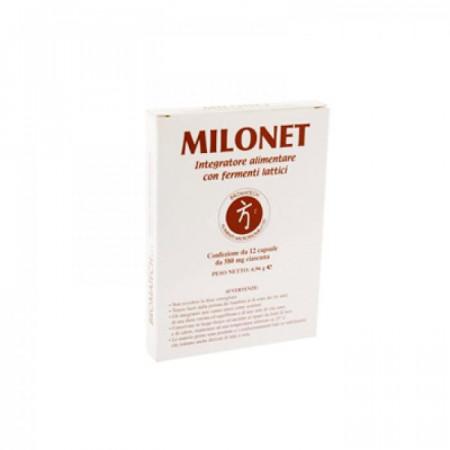 Capsule Milonet per gonfiori addominali - Bromatech immagini
