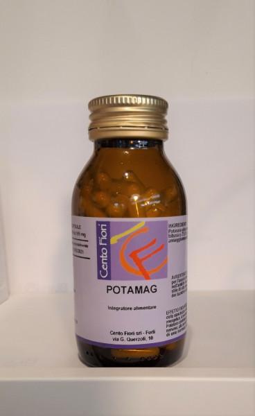 Capsule Potamag magnesio e potassio - Centofiori immagini