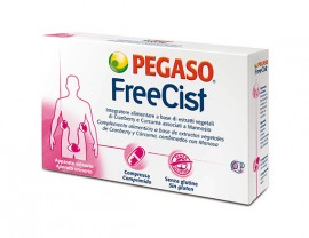 Compresse FreeCist per le vie urinarie - Pegaso immagini