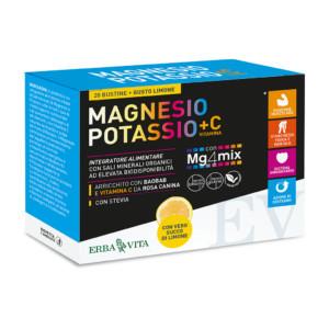 Bustine Magnesio e Potassio - Erba Vita immagini