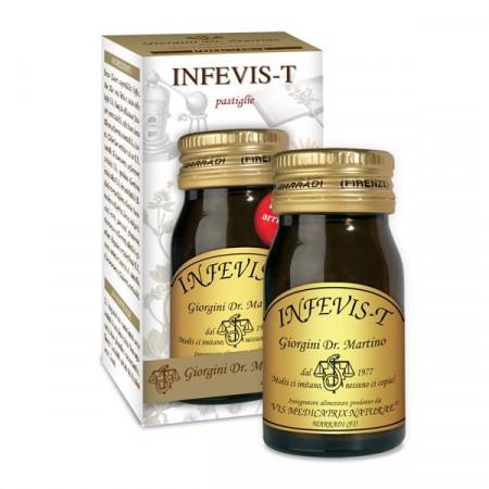 Pastiglie Infevis -T per febbre - Dr Giorgini immagini