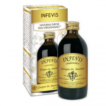 Liquido Infevis analcolico per febbre - Dr Giorgini immagini