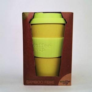 Ecocoffee Cup per bere caffè/tisane Gialla - Fior di Loto