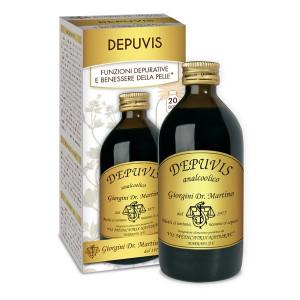 Liquido Depuvis per la depurazione del fegato - Dr Giorgini
