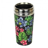 "Thermos in Bamboo ""Take away"" Tropical - Woodway"