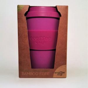 Ecocoffee Cup per bere caffè/tisane Viola - Fior di Loto