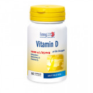 Pastiglie Vitamina D per le ossa - long life