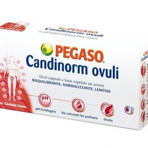 Ovuli Candinorm per candidosi e micosi - Pegaso