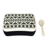 Snack Box Aztec White Black - Woodway