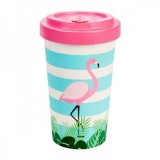 Tazza Bamboo Flamingo pink - Woodway