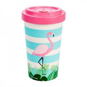 Tazza Bamboo Flamingo pink - Woodway