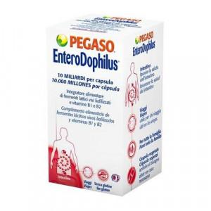 Capsule Enterodophilus 90cps per regolare l'intestino - Pegaso