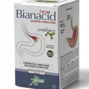 Compresse NeoBianacid 45 per il bruciore di stomaco - Aboca