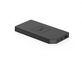 Power Bank Duo-Wireless Allocacoc 10838GY, Gri