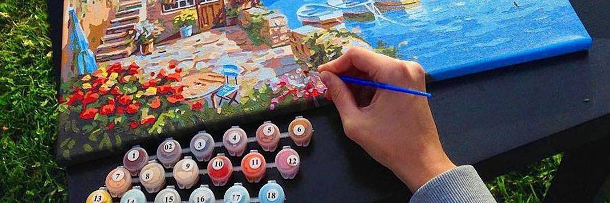 Picturi pe numere – cel mai popular hobby DIY