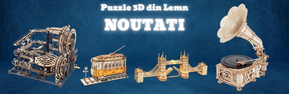 puzzle 3d lemn funfox