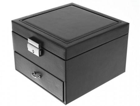 Cutie pentru bijuterii cu sertar si cheita 2