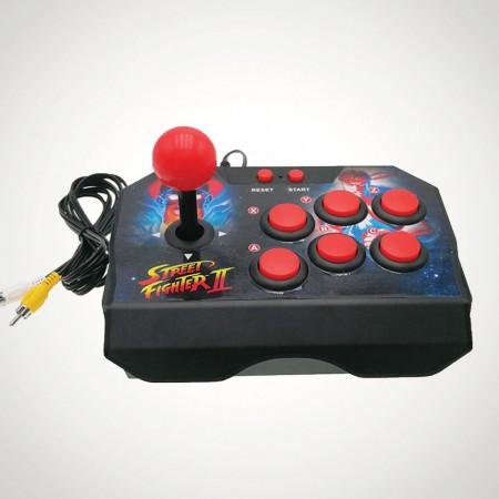 consola joc arcade Street Fighter II pentru televizor 1