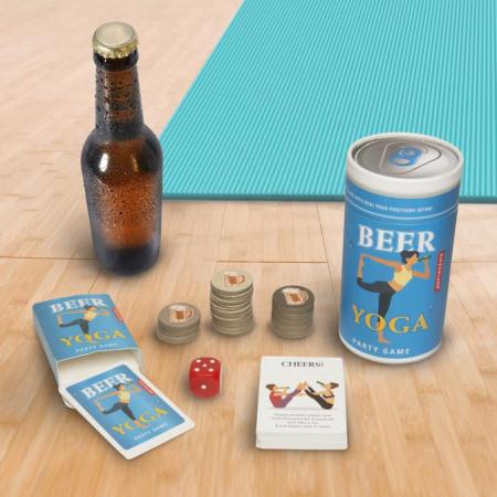 Joc de baut Beer Yoga