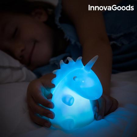 lampa de veghe pentru copii unicorn albastru
