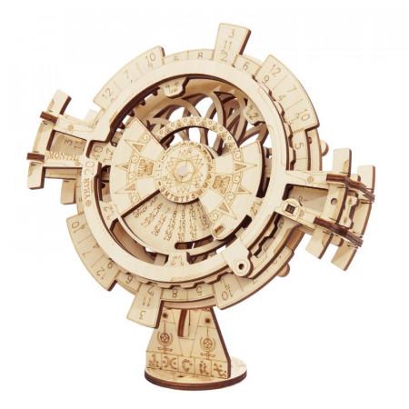 puzzle 3d din lemn calendar perpetuu 1
