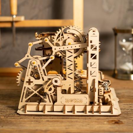 Puzzle 3D din lemn Marble Climber 2