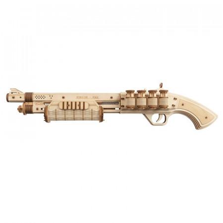 Puzzle 3D lemn Pusca