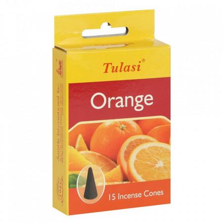 conuri aromaterapie parfumate portocala cutie