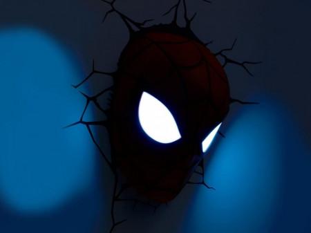 Lampa 3D Philips Spiderman noaptea