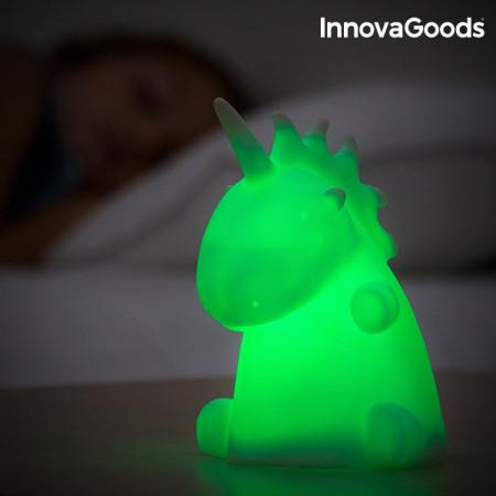 lampa de veghe pentru copii unicorn verde