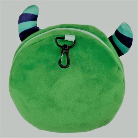 Perna travel Monstrul Verde din spate