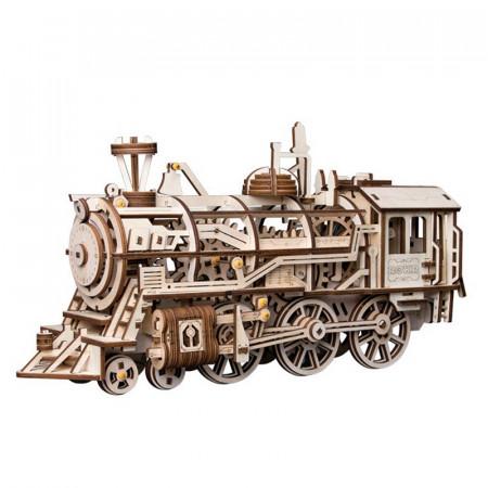 puzzle 3d din lemn locomotiva 5