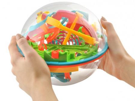 Joc labirint 3D multicolor 5