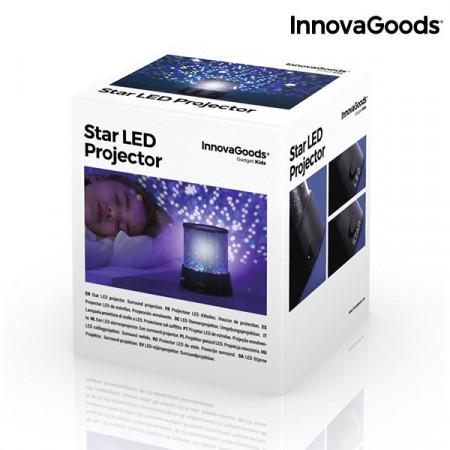 Lampa LED cu proiector de stele in cutie pentru copii