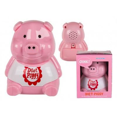 Porcusor roz pentru dieta in cutie