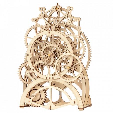 puzzle 3d din lemn ceas cu pendul 5