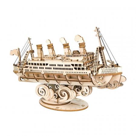 Puzzle 3D din lemn Vas de croaziera