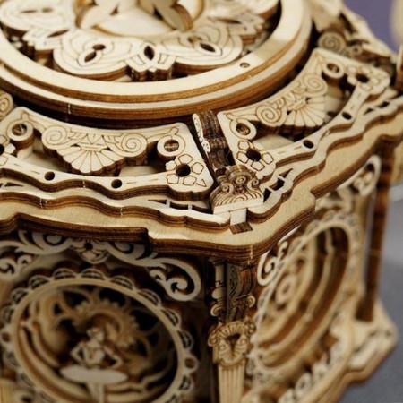 Puzzle 3D lemn Cutie muzicala Gradina secreta 2