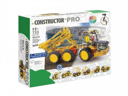 Set constructie Muck 7 in 1 Pro, 733 piese in cultie