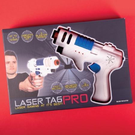 Set 2 pistoale Laser Tag Pro in cutie