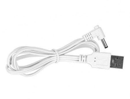 Ceas multifunctional 4 in 1 cu afisare Led Alb cablu USB