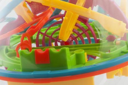 Joc labirint 3D multicolor 7
